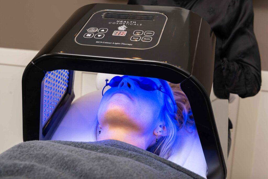centre beaute maenen ledlicht-therapie